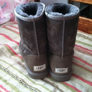 UGG Boots - Authentic UGG brown boots.