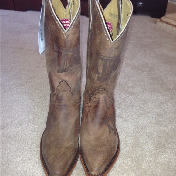 22463fa1ae8 💖SOLD!!!1💖 Texas A&M College Boots by Nocona NWT
