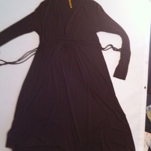 Rachel Pally, Long Sleeve Brown Dress, Size L