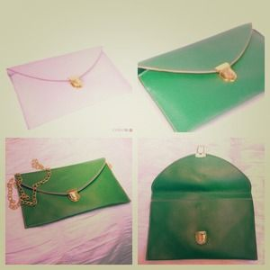 REDUCED!! Envelope Message Clutch