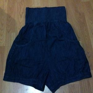 Dresses & Skirts - Vintage style denim romper