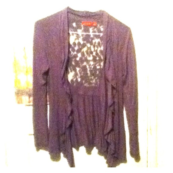 33 off tops purple grey over shirt with see through for Shirts with see through backs