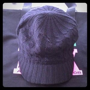 Cute fitted cap. Never worn! Great item to bundle!