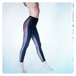 American Apparel two-sided legging