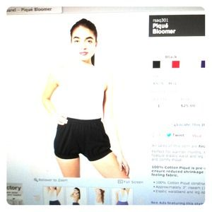 American Apparel bloomer Short