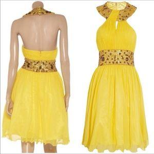 Opulence England  Dresses & Skirts - Opulence England embellished chiffon dress NWT sz2