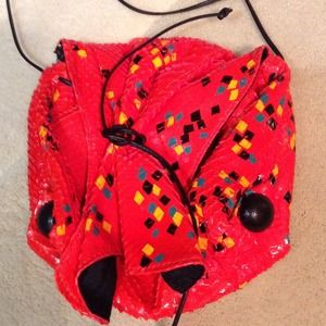 Vintage Snakeskin Carlos Falchi Bag