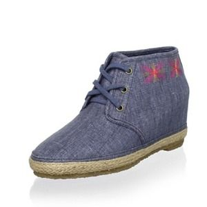 ⭕n hold 80%20 Eliotte Hidden Wedge Bootie Indigo