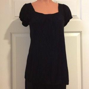 bebe Tops - Bebe Black Sweater Tunic