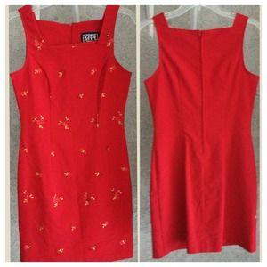 Dresses & Skirts - Beautiful Red Summer Dress