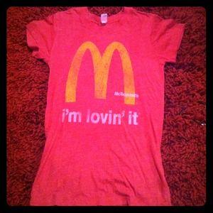 """I'm lovin' it!"" T-shirt"