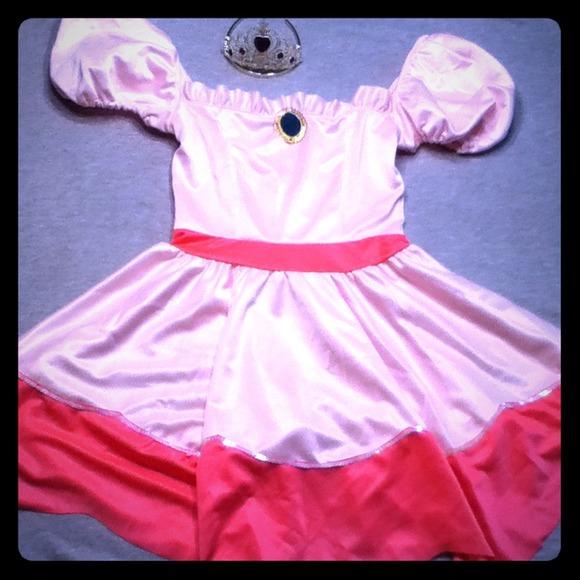 Leg avenue  Princess Peach  Halloween Costume  sc 1 st  Poshmark & Leg Avenue Dresses   Princess Peach Halloween Costume   Poshmark