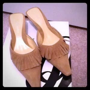 👡👡 Nine West fringe kitten heel shoes 👡👡