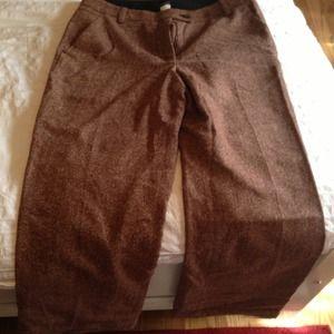 J crew tweed pants