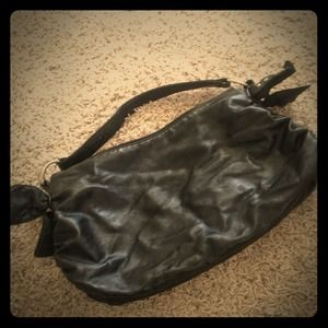 Handbags - Black bow purse