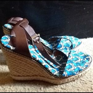 Reduced PriceTORY  BURCH Wedge Espadrille