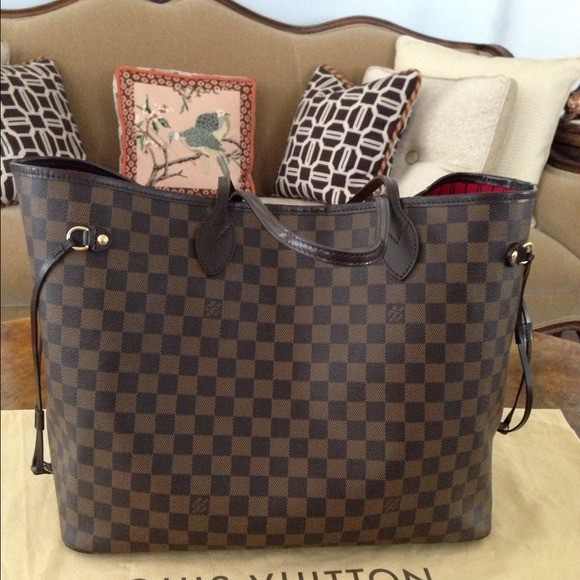 Neverfull Gm Damier Ebene Louis Vuitton