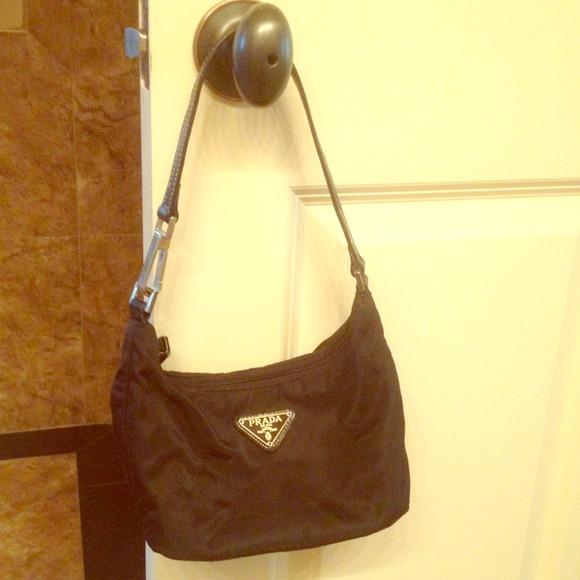 58cdc8221c11ad Prada Bags | Little Black Purse Handbag | Poshmark
