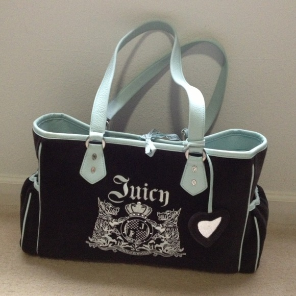juicy couture sold������ beautiful juicy couture diaper bag