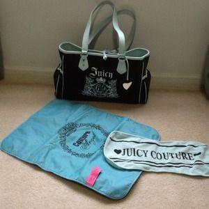 Juicy Couture Bags | Sold Beautiful Diaper Bag | Poshmark