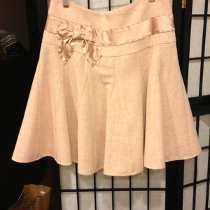 NWOT Arden b preppy pink flowy skirt