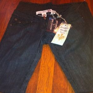 *HOLDLaguna beach Jean hand stitches & hand made