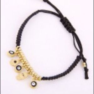 Hamsa and Evil Eye bracelet.