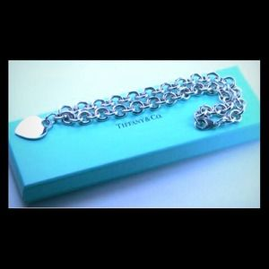 "AUTHENTIC ""TIFFANY & CO"" HEART TAG NECKLACE"