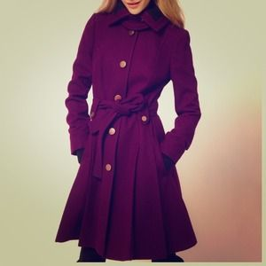 Brand new Asos purple coat- size UK16.