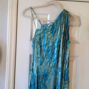 Size 8 long dress. Real with sequins!