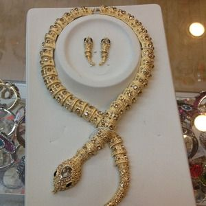 Accessories - Snake chain with earring