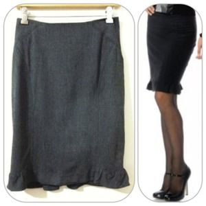 ❗Reduced❗ Bebe wool pencil skirt size 2