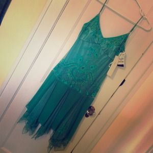 🎀Host Pick🎀Beautiful teal/turquoise gown 🚫trade