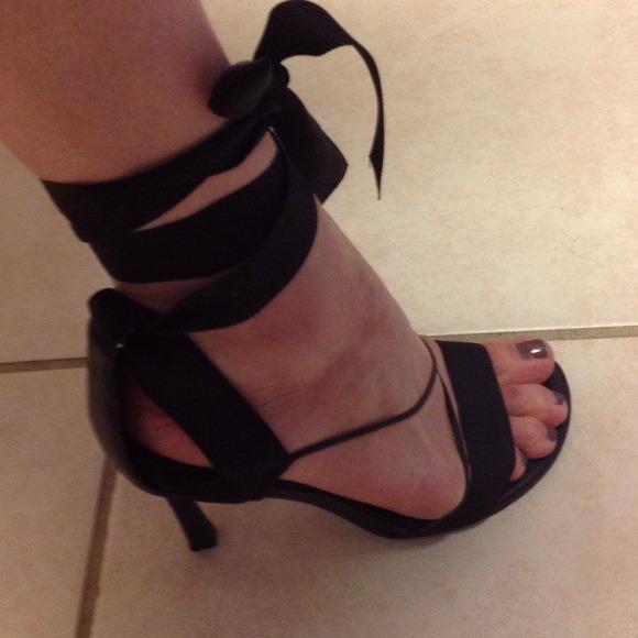 Sexy Ribbon Lace-Up Heels 7 from Melissa&39s closet on Poshmark