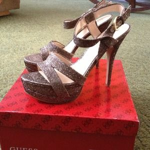 4782411f7d1 Brand New Guess Geary Platform Dress Sandals!!