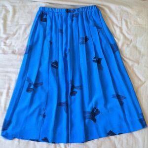 Dresses & Skirts - Pleated Painter's Skirt