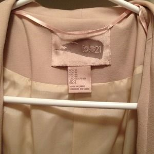 Forever 21 Jackets & Coats - 🎀Forever 21 Baby Pink Blazer