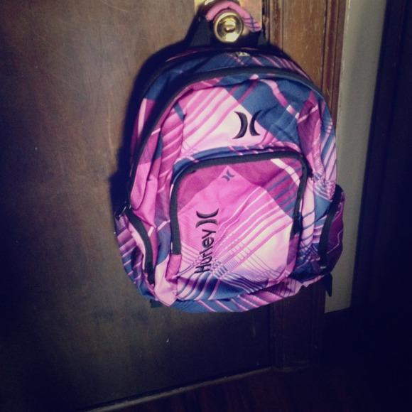 5570b09d00 Hurley pink purple blue backpack