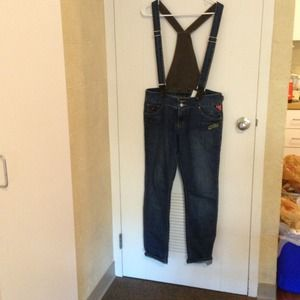 overall jeans!