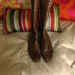 Genuine Crocodile BCBG MaxAzria Boots
