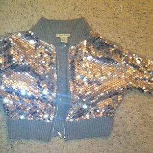 Jackets & Blazers - Junior large sequins jacket