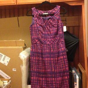 Dresses & Skirts - Merona purple and orange dress