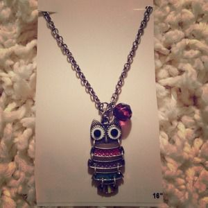 """16"""" Owl Necklace."""