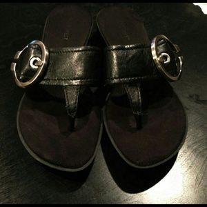 Nine West Leather Sandals.