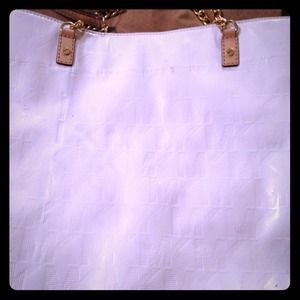 Michael Kors White Mirror Shoulder Bag *reduced*