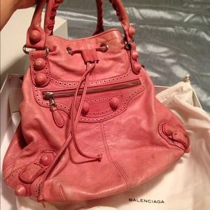 Authentic Balenciaga Pink Bag