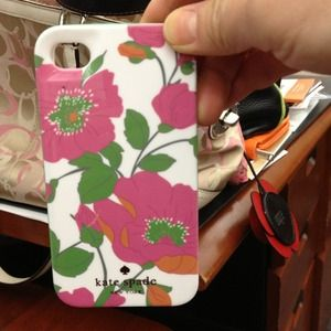 iPhone 4/4s case. Authentic Kate Spade. New w/box