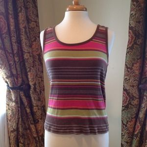 Old Navy- Multi-Colored Striped Tank