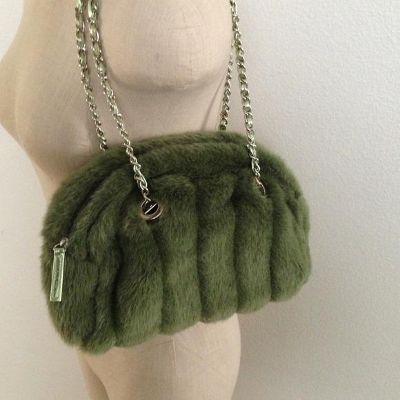 2beeac72de7f Fashion Express Handbags - Faux Fur Purse