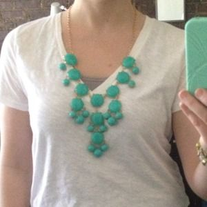 Jewelry - Turquoise bauble necklace